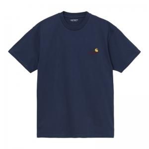S-S American Script T-Shirt logo