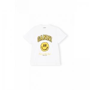 T-Shirt, Smiley Yellow logo