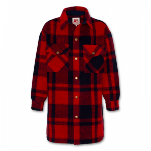 aker overshirt coat logo