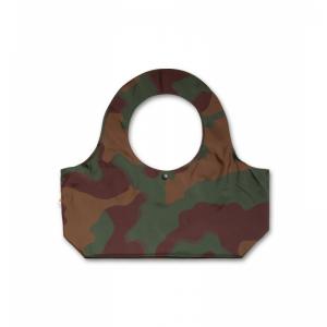 camouflage bag logo